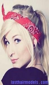 bandana ponytail4