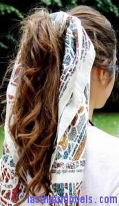 bandana ponytail7