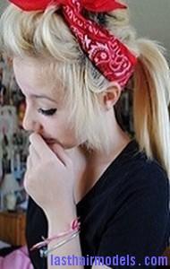 bandana ponytail8