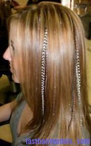 bling tinsel hair4