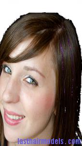 bling tinsel hair8