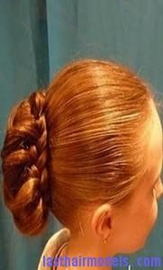 braid wrapped chignon5