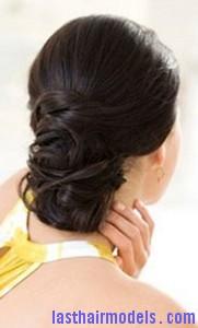 braid wrapped chignon7