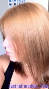 brassy blonde hair8