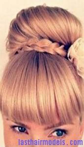 cross braid bun