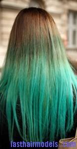green hair2