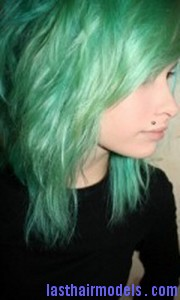 green hair3