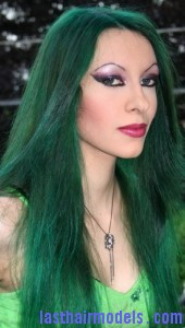 green hair5