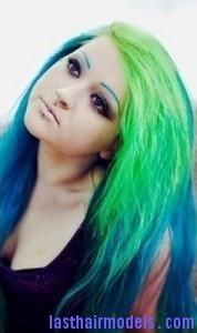 green hair6
