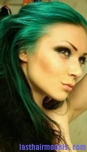 green hair7