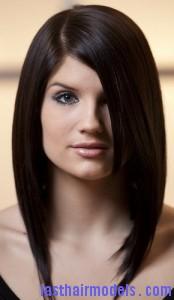 pin straight hair