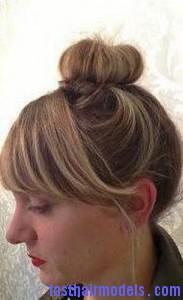 textured top knot8