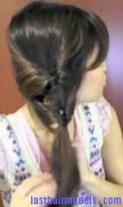 twin loop ponytail3