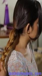 twin loop ponytail7