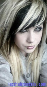 black blonde hair7