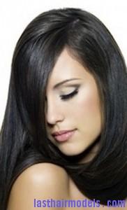 flaky hair