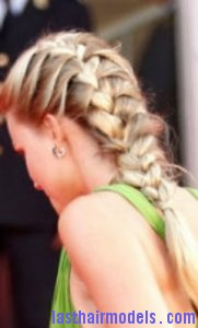 lace braided ponytail4