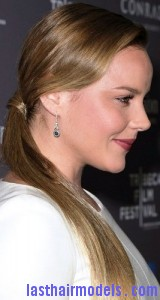 retro side ponytail5