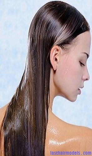 Back view of pretty young female with wet long hairs | Last Hair Models , Hair Styles | Last ...