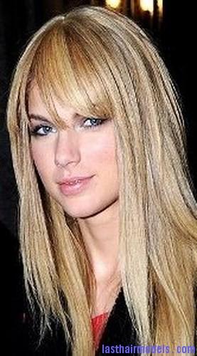 straight damaged hair