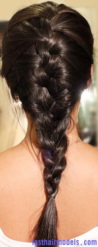 braid layered hair2