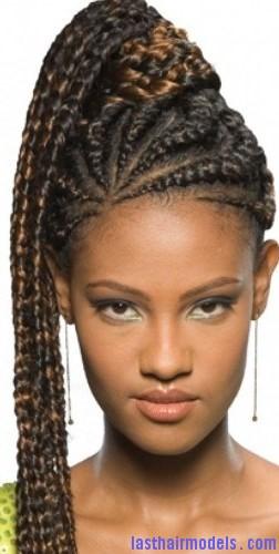 crochet braid ponytail