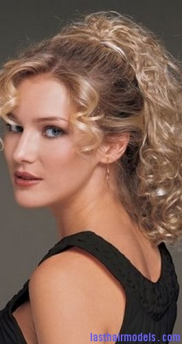 curly synthetic ponytail2
