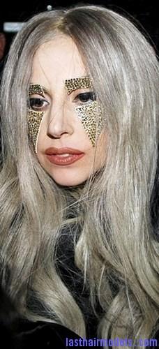 perm silver hair