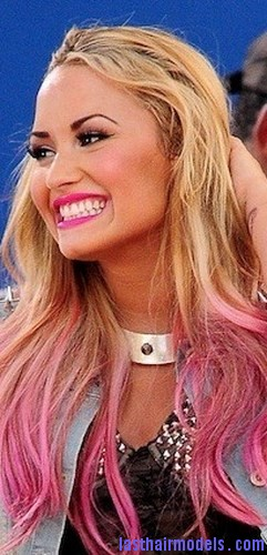 pink hair color4
