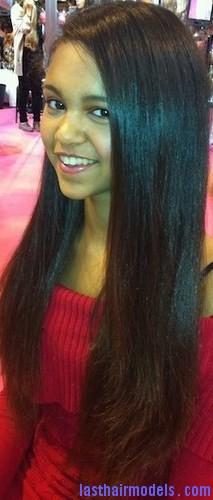 straight hair afro8