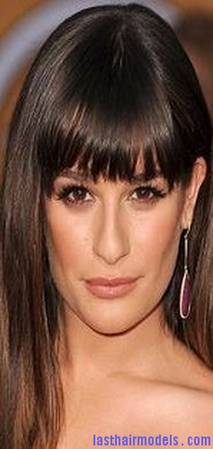 texturized bangs