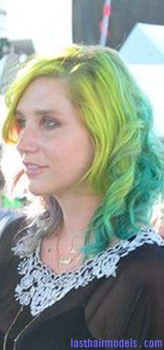 tone green hair6