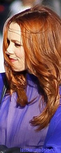 highlighted red hair6