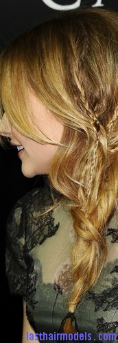 loose side braid8
