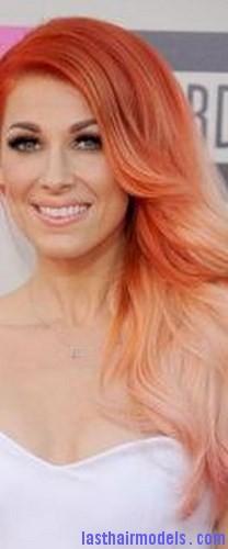 pearl pink hair