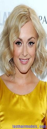 uneven blond hair