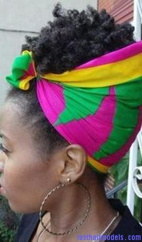 afro hair wrap4