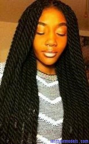 afro yarn twist