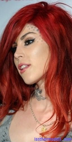 bleach red hair4
