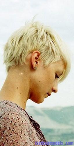 bleach short hair3