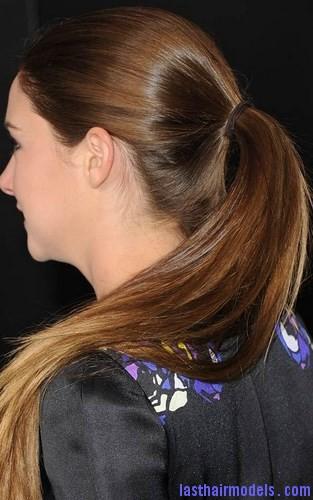 layer hair ponytail2