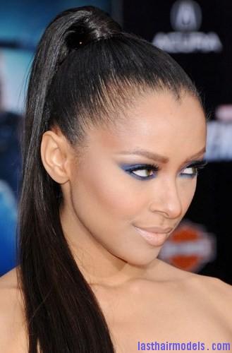 layer hair ponytail3