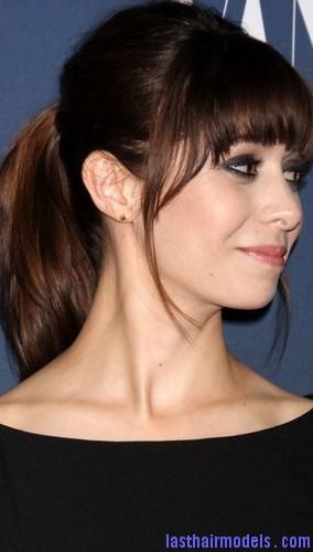 gelled ponytail7