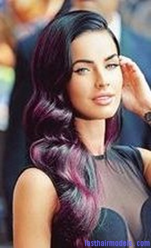 brown hair purple5
