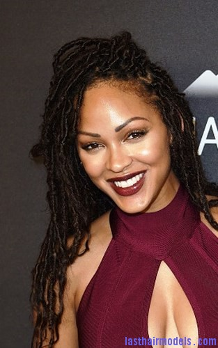 Superb Meagan Good With Locs Hairstyle Last Hair Models Hair Styles Short Hairstyles Gunalazisus
