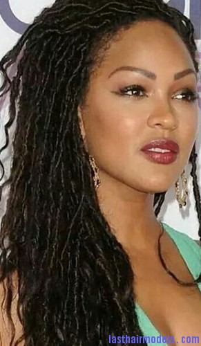 Amazing Meagan Good With Locs Hairstyle Last Hair Models Hair Styles Short Hairstyles Gunalazisus