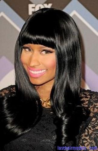 black rinse hair
