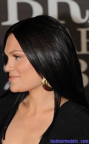 black rinse hair2