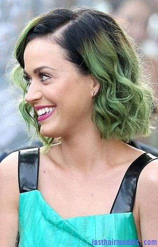 green hair color4