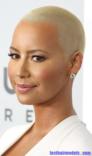 Amber Rose With Tight Haircut Last Hair Models Hair Styles